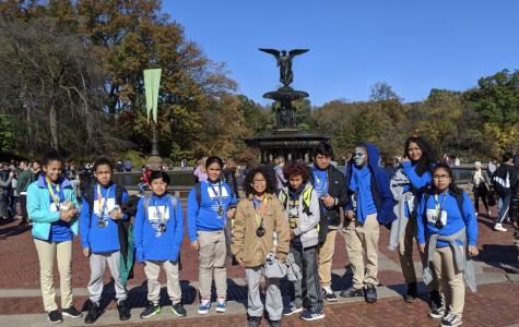 Track Team Attends TCS Run With Champions