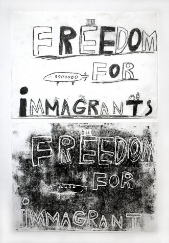 Freedom For Immigrants (Art Submission)