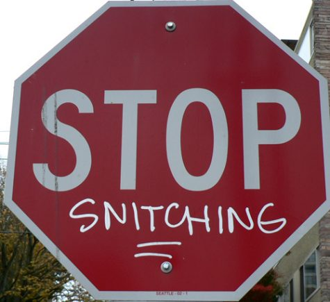 Why You Shouldnt Snitch